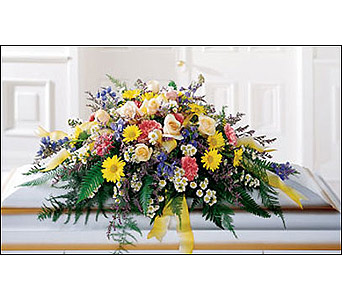 The FTD Heavenly Scented Casket Spray in Cohasset MA, ExoticFlowers.biz