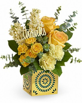 Shimmer of Thanks in Perrysburg & Toledo OH - Ann Arbor MI OH, Ken's Flower Shops