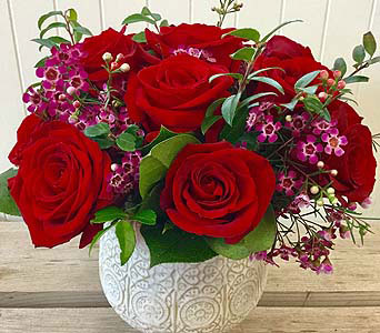 Classy Valentine in Northfield MN, Forget-Me-Not Florist