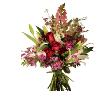 Bunches of Love Hand Wrapped Bouquet in Little Rock AR, Tipton & Hurst, Inc.