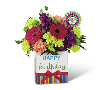 The FTD Birthday Brights Bouquet in Dayton OH, Furst The Florist & Greenhouses