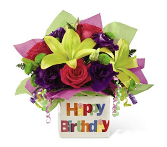 The Happy Birthday Bouquet by FTD in Dayton OH, Furst The Florist & Greenhouses