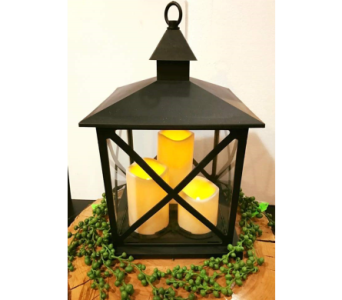 Tree Pillar Lantern in Loudonville OH, Four Seasons Flowers & Gifts
