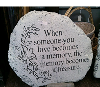 Memory Stepping Stone in Royal Oak MI, Irish Rose Flower Shop