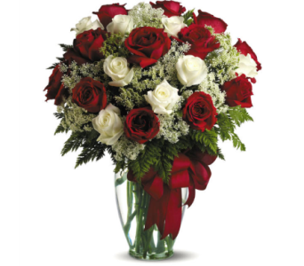 Love's Divine Bouquet - Long Stemmed Roses in Oklahoma City OK, Array of Flowers & Gifts