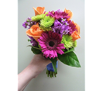 Pee Handheld Bouquets Of Seasonal Blooms For Prom