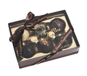 6 Decadent Boxed Truffles in Indio CA, The Flower Patch Florist