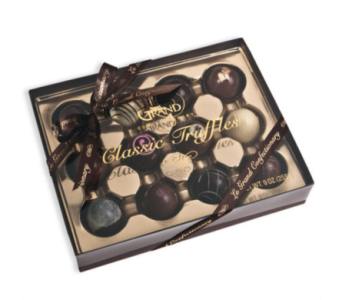 12 Decadent Boxed Truffles in Indio CA, The Flower Patch Florist