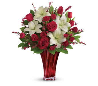 Love's Passion Bouquet in Oklahoma City OK, Array of Flowers & Gifts