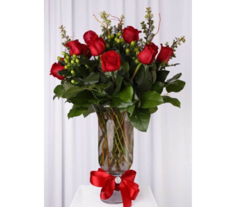 Valentine Roses-20 in Santa Clarita CA, Celebrate Flowers and Invitations