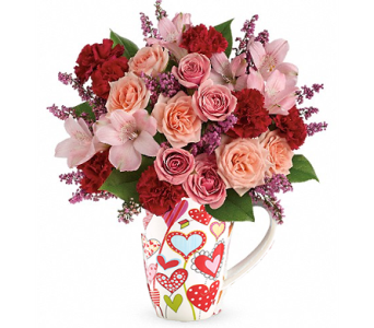 Teleflora''s Lovely Hearts Bouquet in Birmingham AL, Norton's Florist
