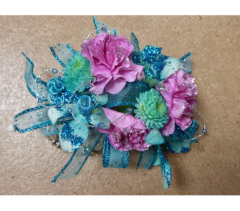 Aquaberry Wristlet  in Fairless Hills PA, Flowers By Jennie-Lynne