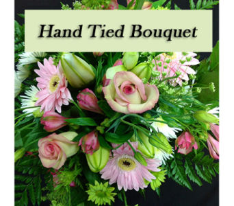 Hand Tied Bouquet, Designers Choice in Kelowna BC, Burnetts Florist & Gifts