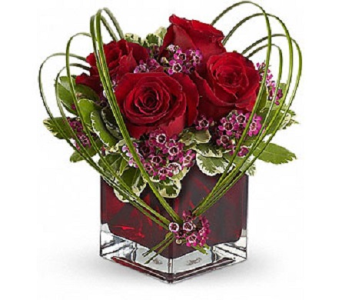 Sweet Thoughts Bouquet With Red Roses in Palm Springs CA, Palm Springs Florist, Inc.