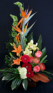 Tropical Bliss in Farmington CT, Haworth's Flowers & Gifts, LLC.
