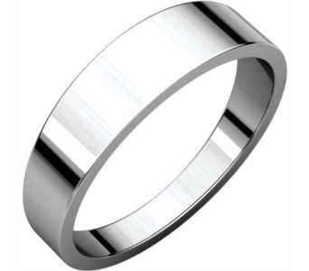 Flat Tapered Wedding Bands in Winter Haven FL, DHS Design Guild