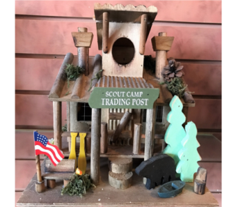 Scout Camp Trading Post Bird House in Huntington WV, Archer's Flowers, Inc.