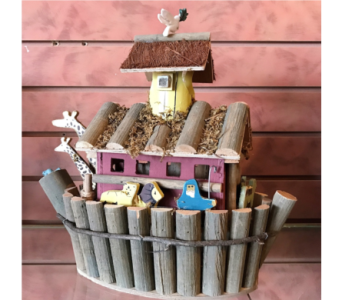 Noah's Ark Bird House in Huntington WV, Archer's Flowers, Inc.