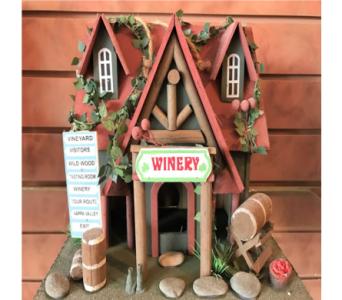 Winery Bird House in Huntington WV, Archer's Flowers, Inc.