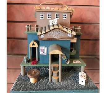 Waterfront Casino Bird House in Huntington WV, Archer's Flowers, Inc.
