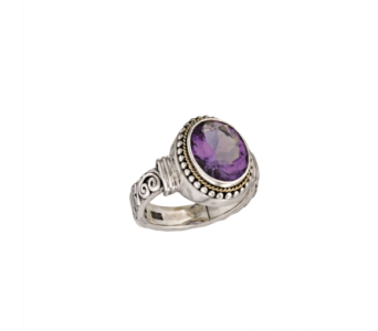 SS AMETHYST RING in Winter Haven FL, DHS Design Guild