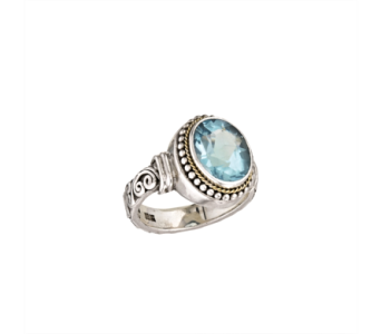 SS BLUE TOPAZ RING in Winter Haven FL, DHS Design Guild
