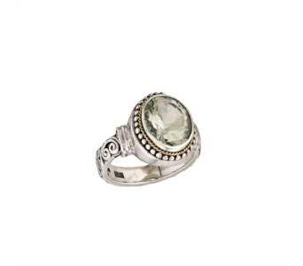 SS GREEN AMETHYST RING in Winter Haven FL, DHS Design Guild