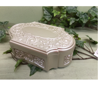 Pearlized Music Box in Owensboro KY, Welborn's Floral Company