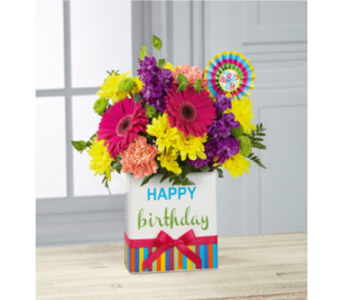 BIRTHDAY BRIGHTS BOUQUET in New Port Richey FL, Holiday Florist