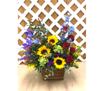 Custom Designed Basket in Purcellville VA, Purcellville Florist