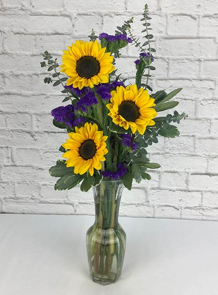 Heavenly Sunflowers in Raleigh NC, Fallon's Flowers