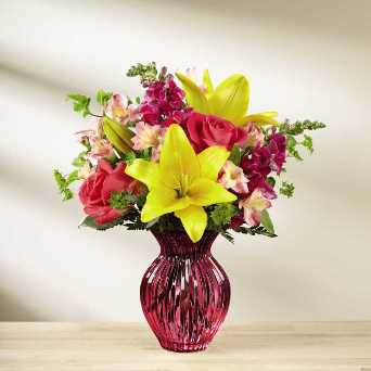 Happy Spring Bouquet in Camp Hill and Harrisburg PA, Pealer's Flowers