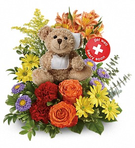 Get Better Bouquet by Teleflora in Oakland MD, Green Acres Flower Basket