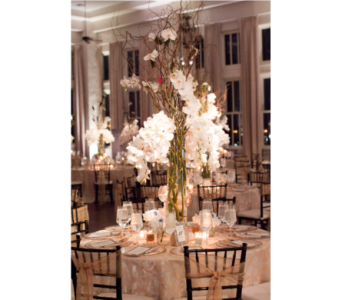 Reception Centerpieces in Dallas TX, In Bloom Flowers, Gifts and More