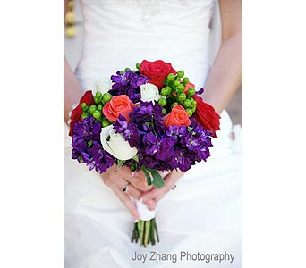 Bridal Bouquet 4 in Dallas TX, In Bloom Flowers, Gifts and More