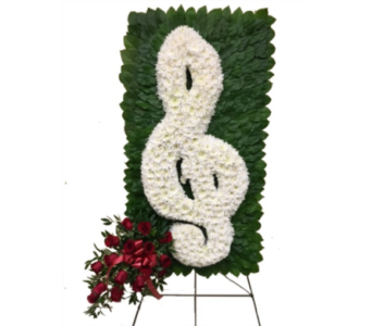 Treble Clef in Somerset NJ, Flower Station