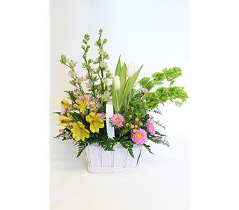 Spring Basket in Lower Gwynedd PA, Valleygreen Flowers and Gifts