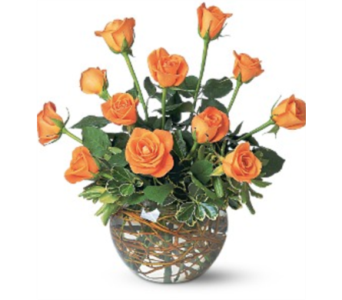 Orange Roses in Little Rock AR, Tipton & Hurst, Inc.