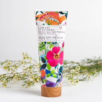 Library of Flowers Shower Gel: Arboretum Fragrance in Dallas TX, Dr Delphinium Designs & Events