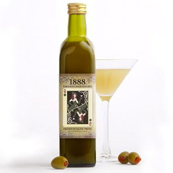 1888 Dirtiest Martini Mix in Dallas TX, Dr Delphinium Designs & Events
