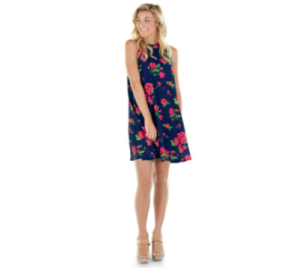 Sawyer Floral Swing Dress in Virginia Beach VA, Fairfield Flowers