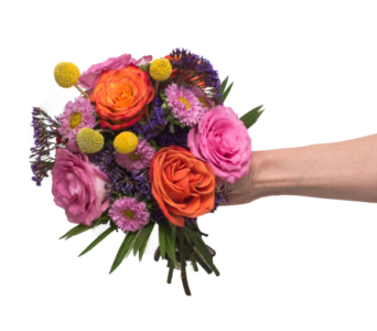Bright Clutch Bouquet in Little Rock AR, Tipton & Hurst, Inc.