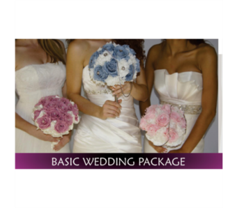 Basic Wedding Package50% off price shown in Miami FL, Anthurium Gardens Florist