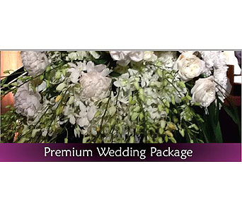 Premium Wedding Package50% off price shown in Miami FL, Anthurium Gardens Florist