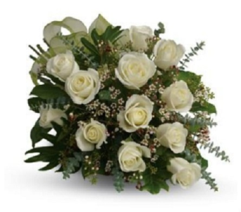 White Roses in Kelowna BC, Bloomers Floral Designs & Gifts, Ltd.