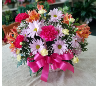 Bright Deluxe Basket in Lehigh Acres FL, Bright Petals Florist, Inc.
