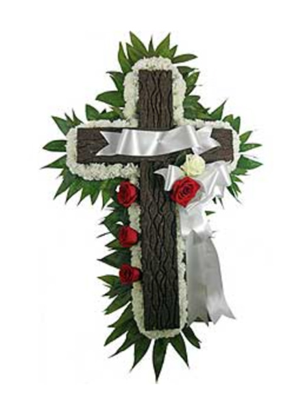 Signature Collection Memorial Cross in Arlington Heights IL, Sylvia's - Amlings Flowers