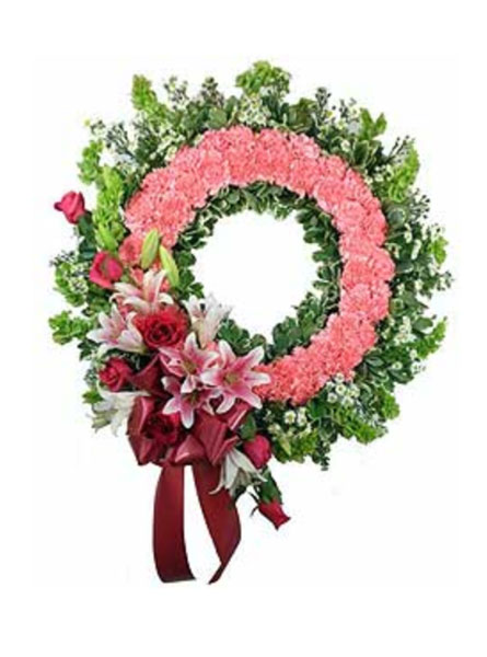 Love's Garden Wreath in Arlington Heights IL, Sylvia's - Amlings Flowers