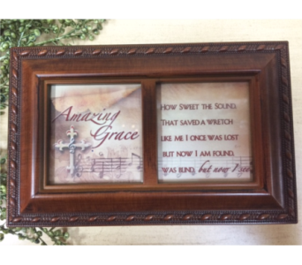 Music Box-Amazing Grace in Brownsburg IN, Queen Anne's Lace Flowers & Gifts