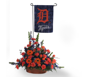 Salute to the Tiger Fan in Southfield MI, Thrifty Florist